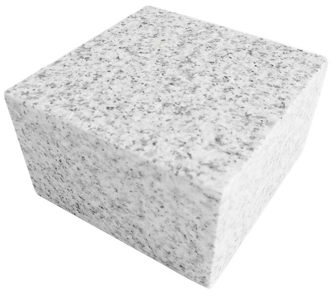 Silver Grey Granite Block paving