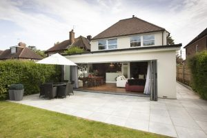 Silver Grey Granite 600x600 patio kit