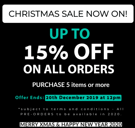 Pavevolution Xmas sale 2019