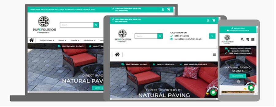 Pavevolution Ltd responsive devices